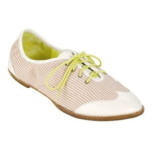 Cole Haan Kody Stripe Lace Up Oxford Flats
